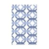 e by design We're All Connected Geometric Print Polyester Fleece Throw Blanket