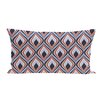 e by design Candlelight Geometric Print Outdoor Pillow