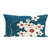 e by design Floral  Outdoor Pillow