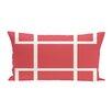 e by design Geometric Decorative Outdoor Pillow
