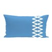 e by design Lace Up Outdoor Pillow