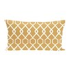 e by design Charleston Geometric Print Outdoor Pillow