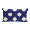 e by design Ikat Dot Geometric Print Outdoor Pillow