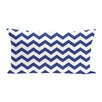 e by design Chevron Decorative Outdoor Pillow