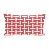 e by design Geometric Decorative Outdoor Pillow