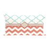 e by design Express Line Geometric Print Outdoor Throw Pillow