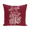 e by design Santa Baby Decorative Holiday Print Throw Pillow