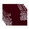 e by design Santa Baby Holiday Print Placemat (Set of 4)