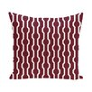 e by design Nuts and Bolts Decorative Holiday Geometric Print Throw Pillow