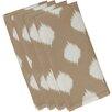 e by design Ikat Dot Geometric Napkin (Set of 4)