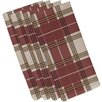 e by design Big Bad Plaid Napkin (Set of 4)