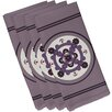 e by design Kaleidoscope Geometric Napkin (Set of 4)