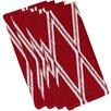e by design Gate Keeper Geometric Napkin (Set of 4)