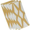 e by design Geometric Decorative Napkin (Set of 4)