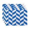 e by design Zigzag Jag Geometric Placemats (Set of 4)