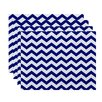 e by design Chevron Decorative Placemat (Set of 4)