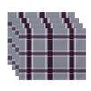 e by design Criss Cross Applesauce Geometric Placemat (Set of 4)