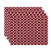 e by design Link Lock Geometric Placemat (Set of 4)
