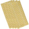 e by design Geometric Decorative Napkin (Set of 4)