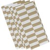 e by design Stair Stepping Stripe Napkin (Set of 4)