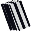 e by design Stitch in Time Stripe Napkin (Set of 4)