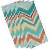 e by design Ikat-Arina Chevron Napkin (Set of 4)