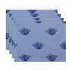e by design Corral Coastal Placemat (Set of 14)