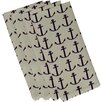 e by design Anchors Away Coastal Napkin (Set of 4)