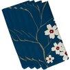 e by design Floral Decorative Napkin (Set of 4)