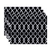 e by design Charleston Geometric Placemat (Set of 4)