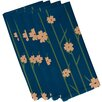 e by design Floral Decorative Napkin (Set of 4)