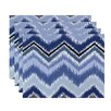 e by design Ikat-arina Chevron Stripes Placemat (Set of 4)