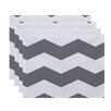 e by design Geometric Decorative Placemat (Set of 4)