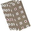 e by design Hip to be Square Geometric Napkin (Set of 4)