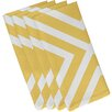 "e by design ""X"" Marks the Spot Stripe Napkin (Set of 4)"