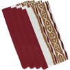 e by design Ikat Ribbon Stripe Napkin (Set of 4)