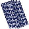 e by design Menorah Abstract Holiday Geometric Print Napkin (Set of 4)
