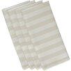 e by design Stripe Print Napkin (Set of 4)