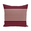 e by design Half Stripe Throw Pillow