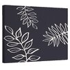 e by design My Best Frond Floral Bewitching Painting Print on Wrapped Canvas