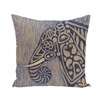 e by design Inky Animal Print Floor  Pillow