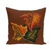 e by design Autumn Colors Flower Print Floor  Pillow