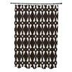 e by design Geo-Craze Geometric Print Shower Curtain