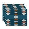 e by design Sagebrush Geometric Print Placemat