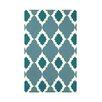 e by design Medina Geometric Print Throw Blanket