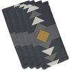 e by design Sagebrush Geometric Print Napkin