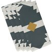 e by design Mesa Geometric Print Napkin