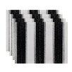 e by design Striate Stripe Stripe Print Placemat