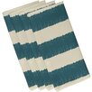 e by design Twisted Stripe Stripe Print Napkin