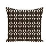 e by design Geo-Craze Geometric Print Throw Pillow